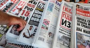 Istraživanje o čitanosti dnevne štampe u Srbiji pokazuje da